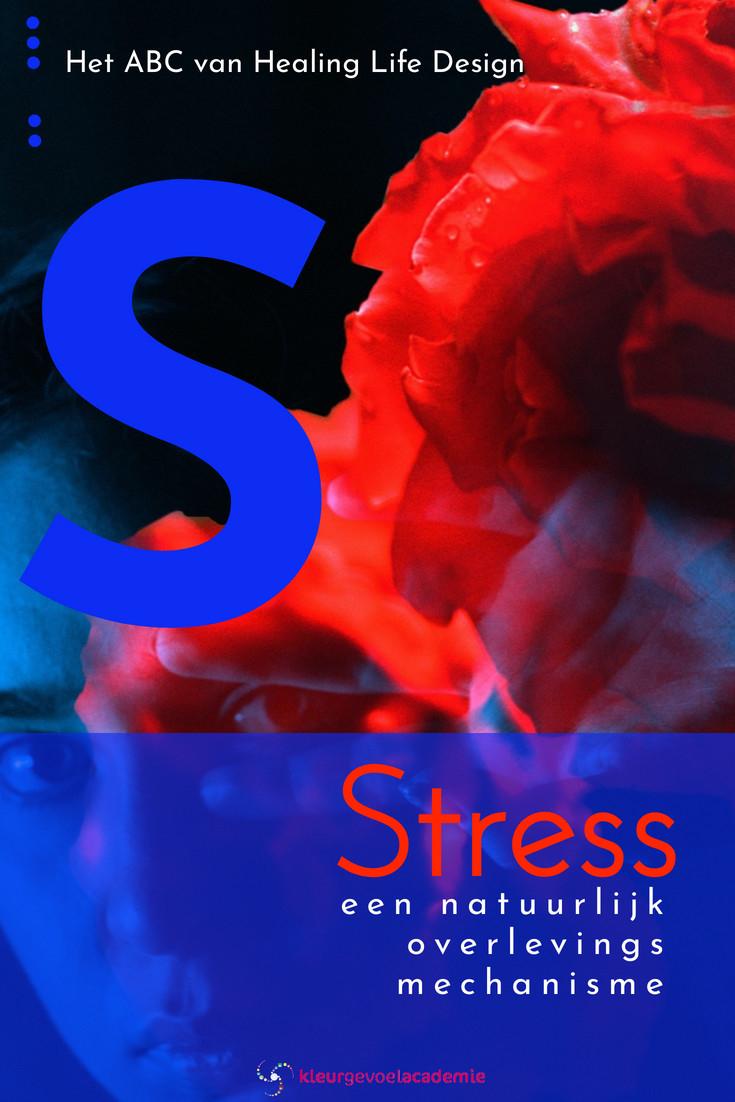 S van stress natuurlijk overlevingsmechanisme wat zich tegen ons keert