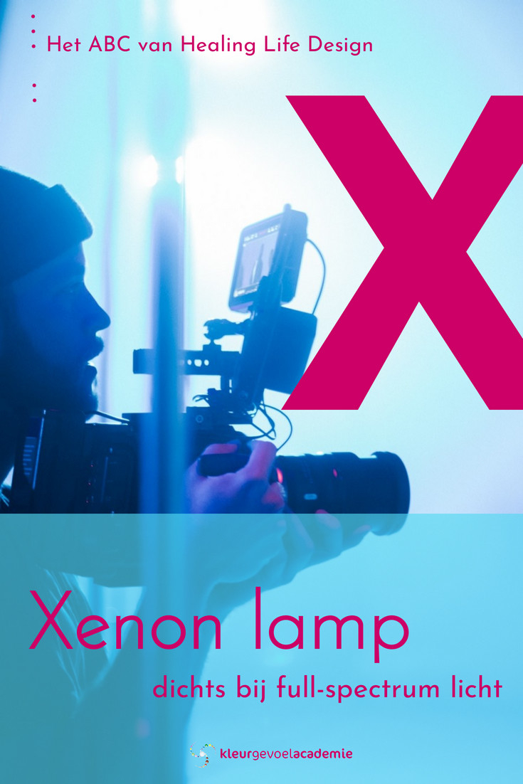 X van Xenon verlichting dichts bij full-spectrum licht