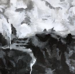 Donker licht schilderij