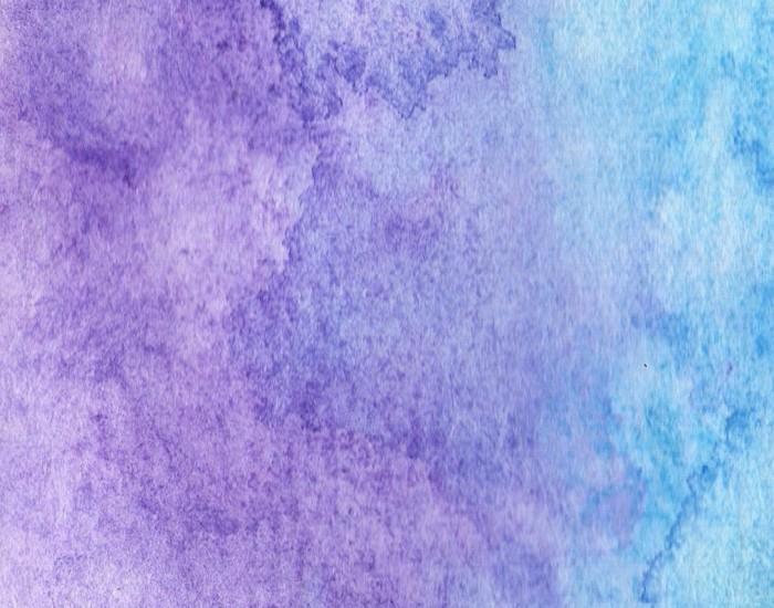 paarsblauwwaterverf achtergrond