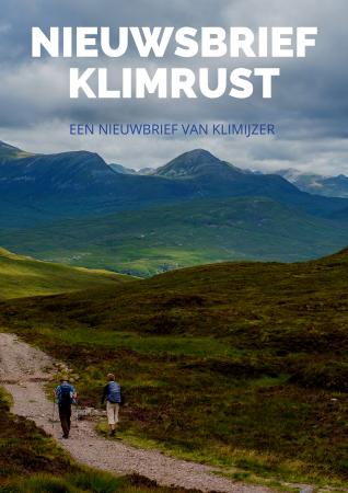 Nieuwsbrief inschrijven klimrust wandelen nederland schotland ondernemers