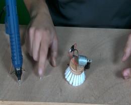 onderkant bibberborstel