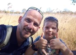 De Knutselmeester Jasper met zoon Bram