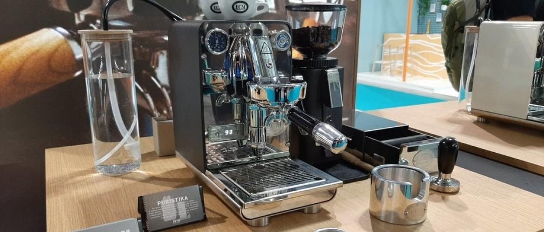 ECM Puristika, nieuwe stijl espressomachine.