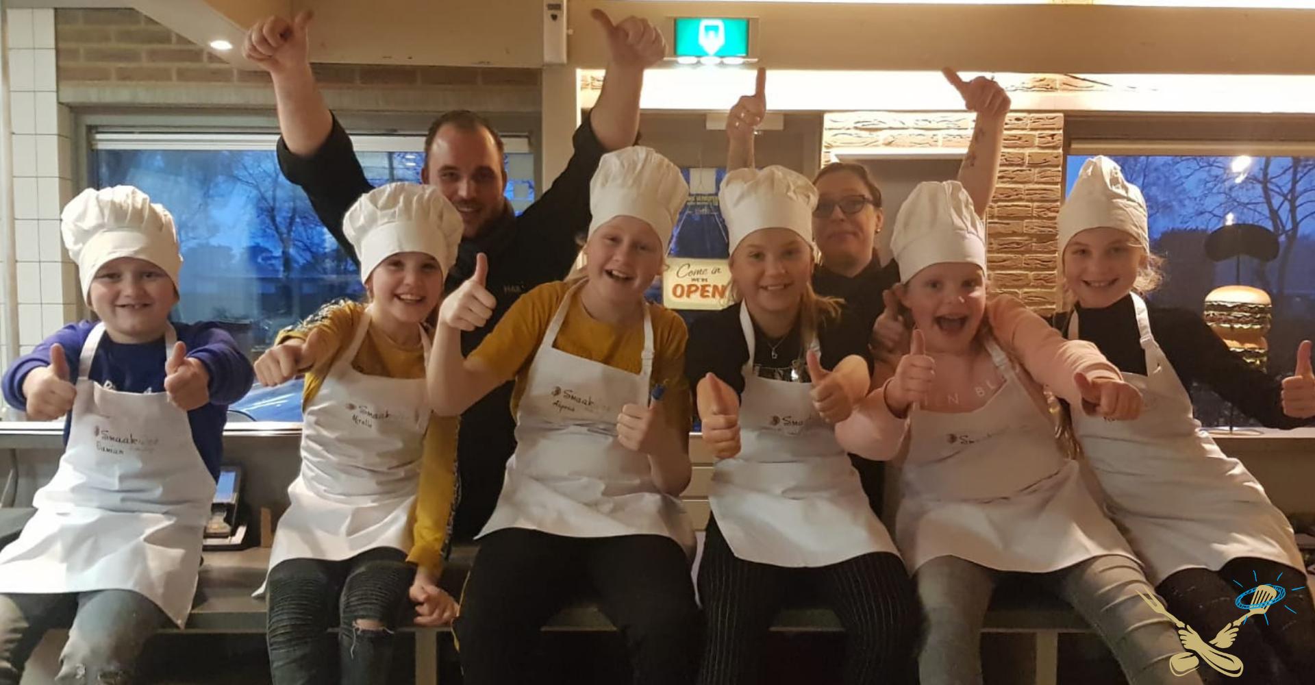 Kids Kookcollege koken 6 lessen maat 2021