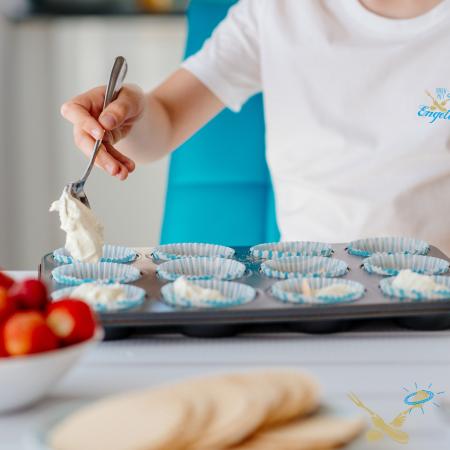 Kookcollege kinderfeestje Cup cakes bakken