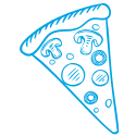 Kookcollege kinderfeestje pizza