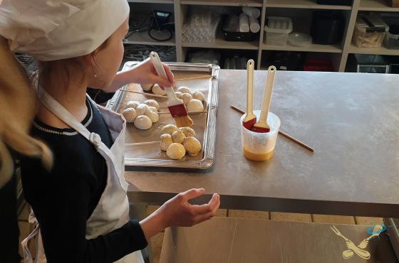 Kookcollege kids broodjes bakken