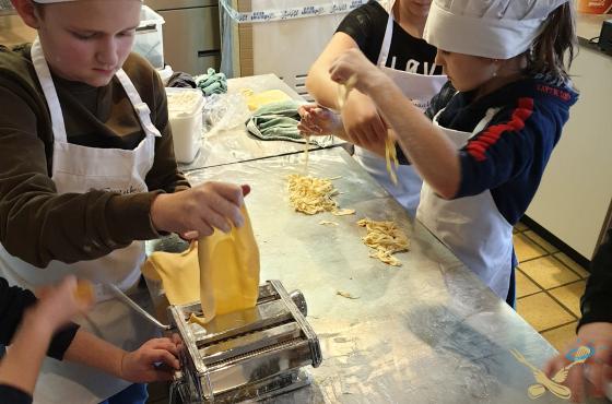 Kookcollege Kids Pasta maken