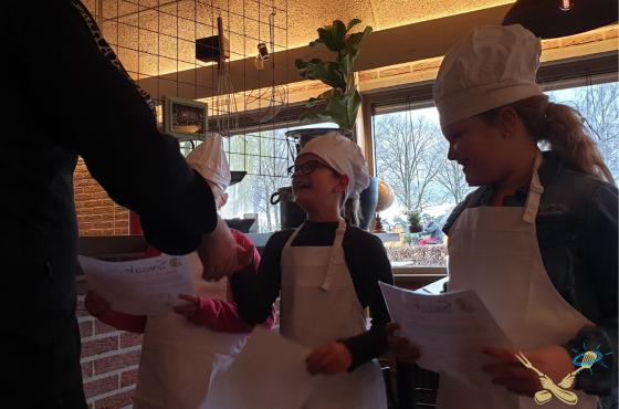 Kookcollege Kids Diploma koekjes bakjes
