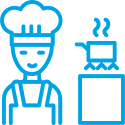 Kookcollege Koken met Engelen Icon Privé Les