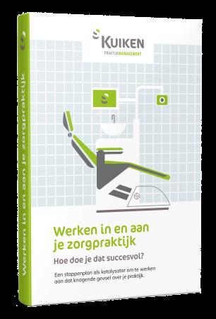 Cover E-boek Werken in en aan je zorgpraktijk