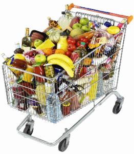 boodschappen - robić zakupy