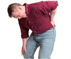 lage rugpijn spit