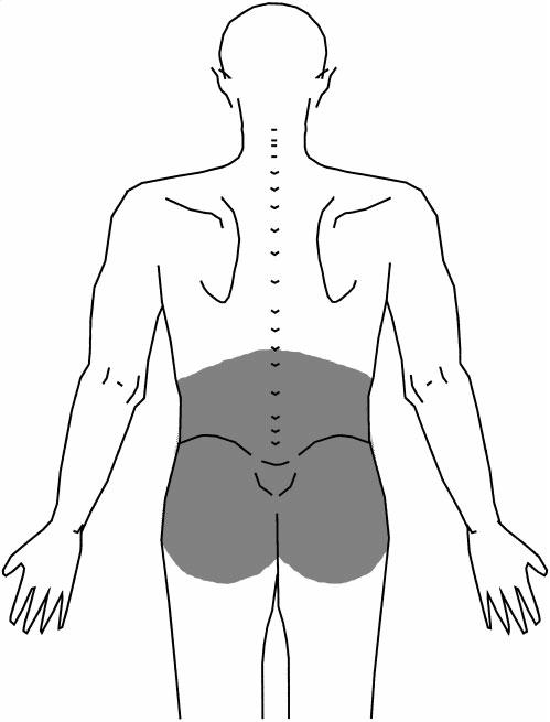 lage rugpijn na bevalling