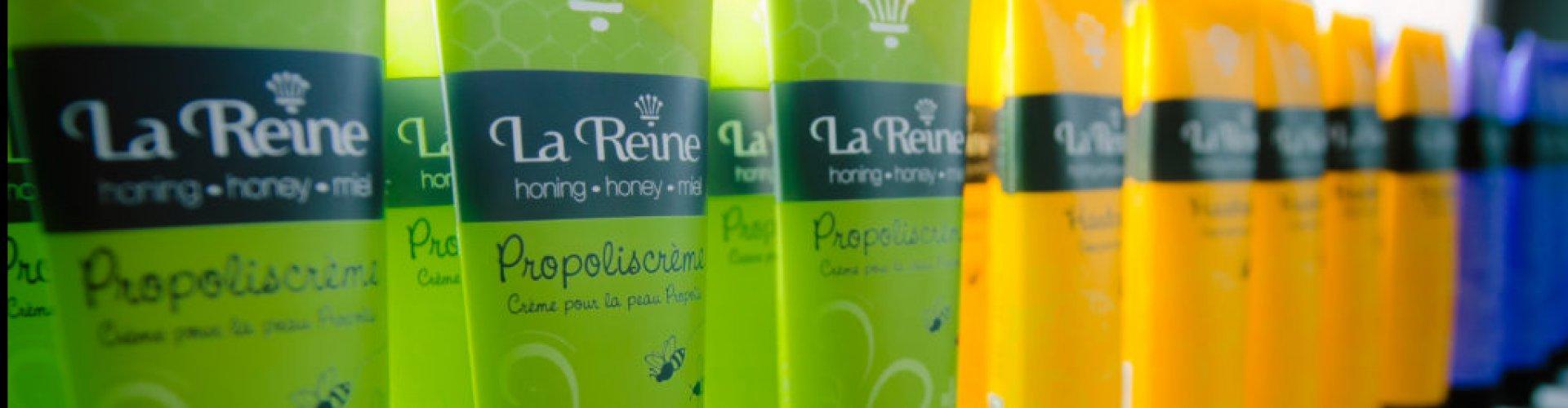 Verkooppunt La Reine Honing Crèmes