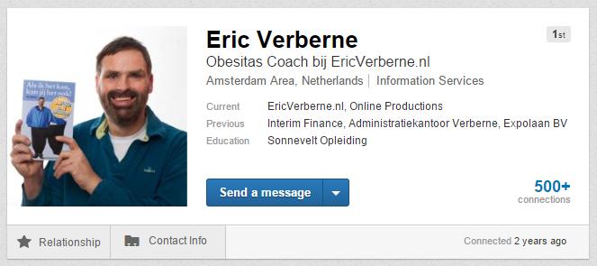 Eric Verberne LinkedIn