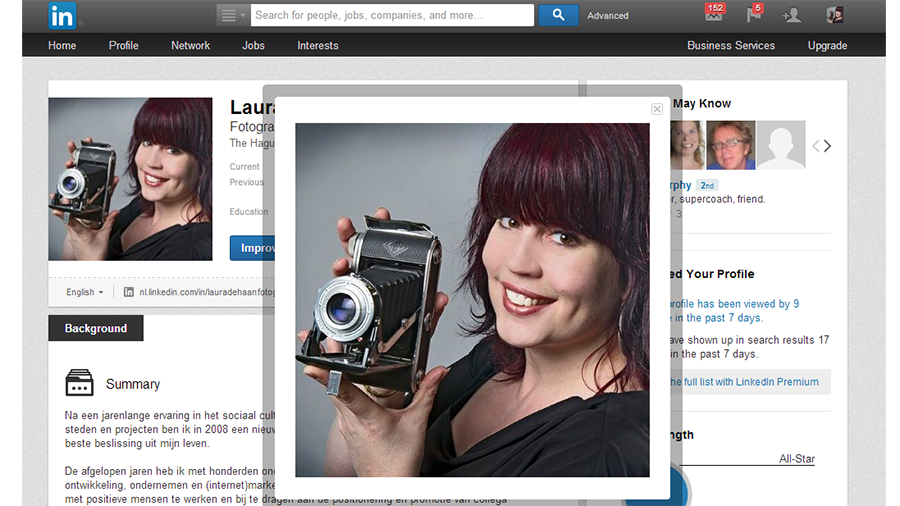 Profielfoto Linkedin