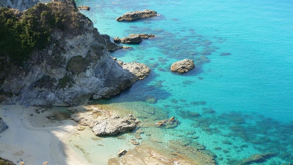 Foto van het strand Capo Vaticano, een prachtig strand aan de Tyrreense zee