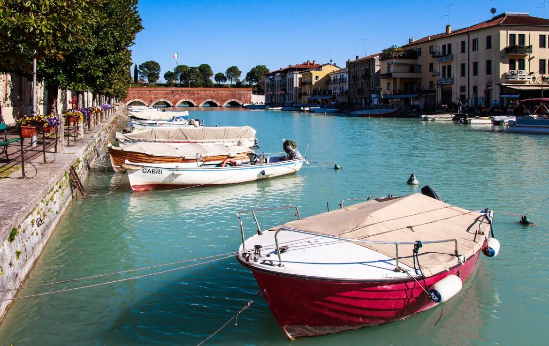 Peschiera del Garda een mooi dorpje aan het Gardameer
