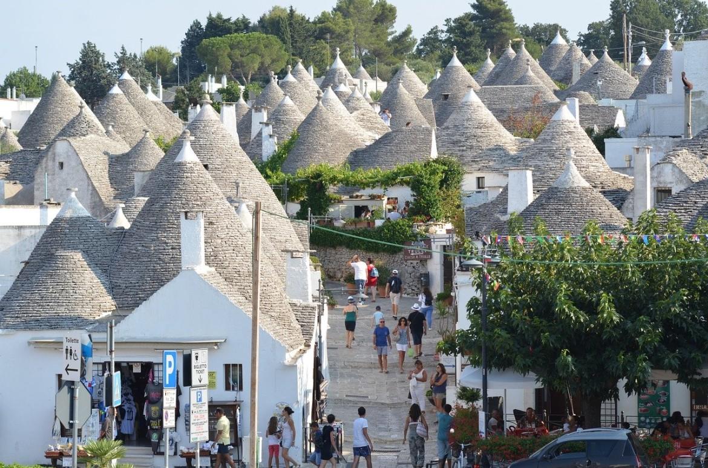 op vakantie in regio Puglia (Italië)