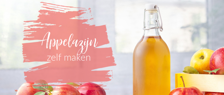 Appelazijn, zelf maken met alleen appel (schillen) en water