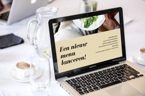 Zo lanceer je een nieuw restaurant menu op social media.