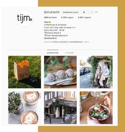 Instagram feed van Tijm.