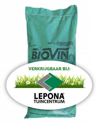 Biovin bodemverbeteraar bij Tuincentrum Lepona