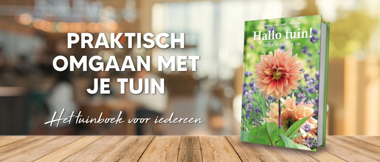 Voorverkoop gestart boek 'Hallo Tuin!'