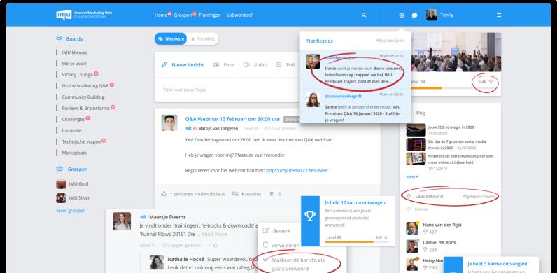 Platform leren Bloggen