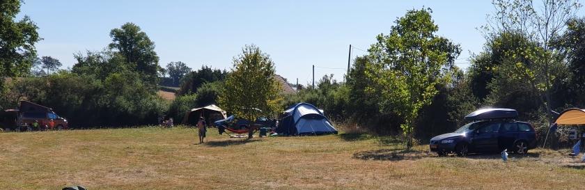 campingplaats vrije plaatsen