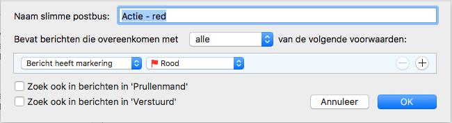 automatiseer de verwerking in je mailbox voor mac