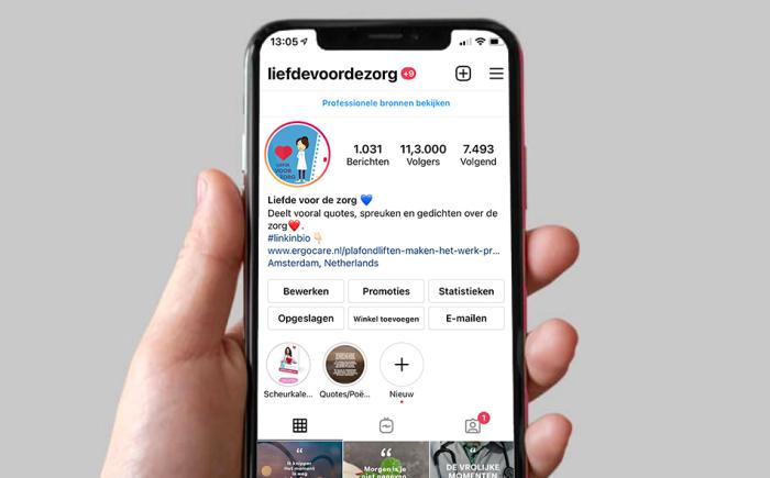 meer dan 55.000 volgers op social media!