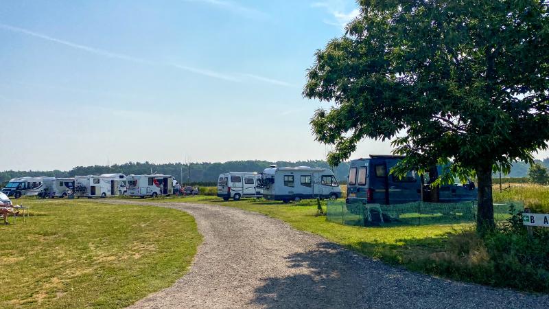 Camperplaats In de Verte in Limburg