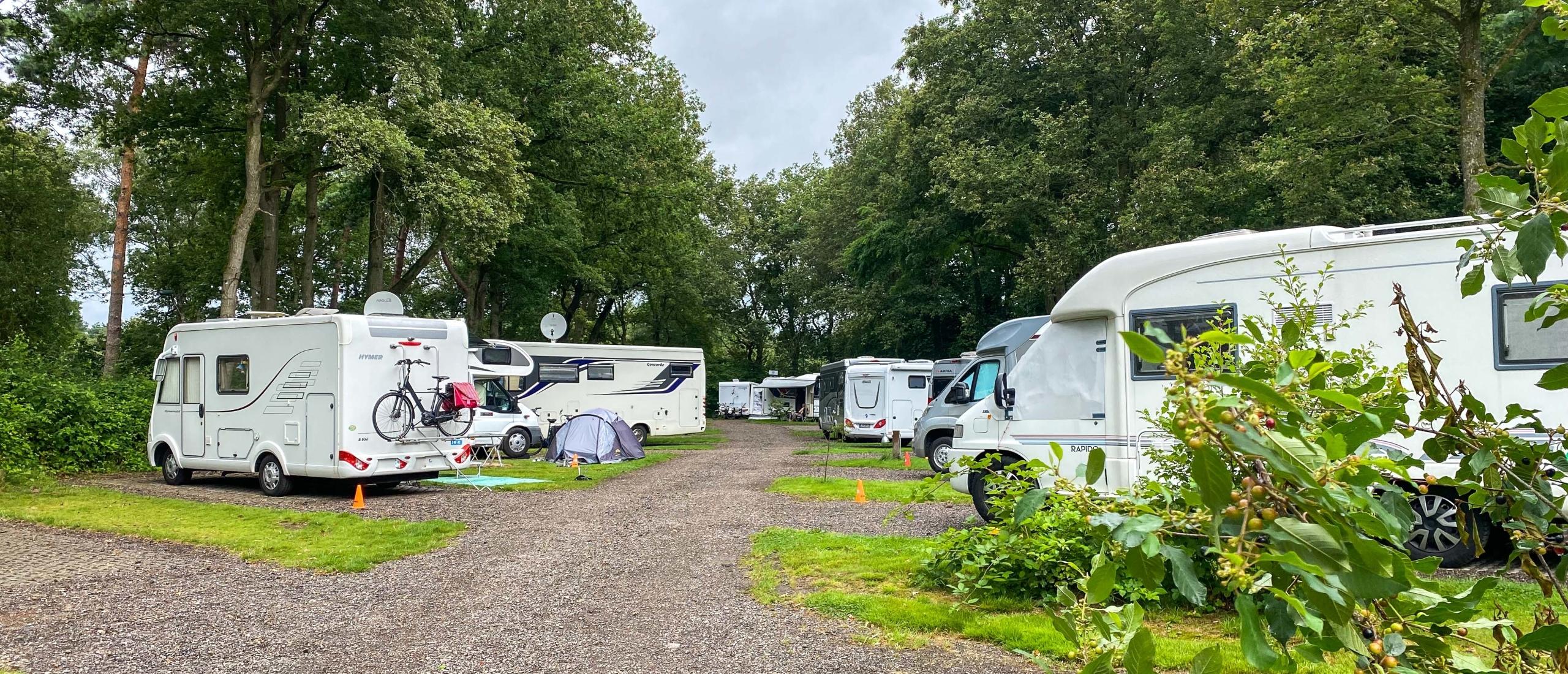 Camperpark 't Hulsbeek ligt op een unieke locatie