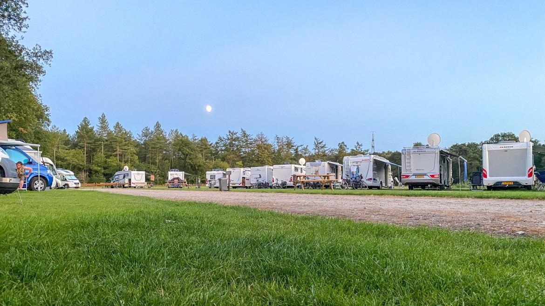 Camperplaats de Bosweide hele jaar open