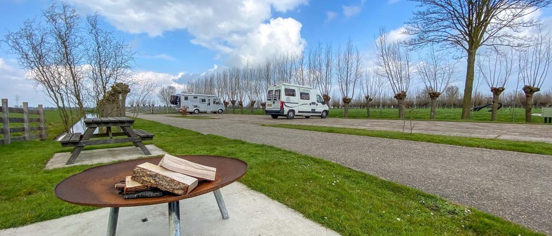 Camperplaats De Willige Waard: met fraai uitzicht