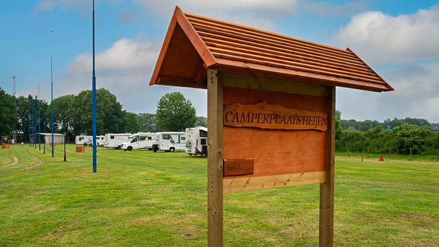 Camperplaats Heijen in Limburg
