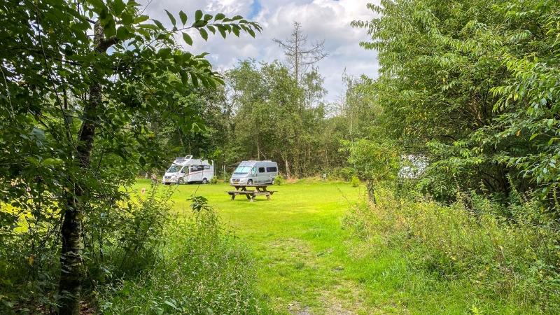 Camperplaats De Kale Duinen vlakbij Appelscha