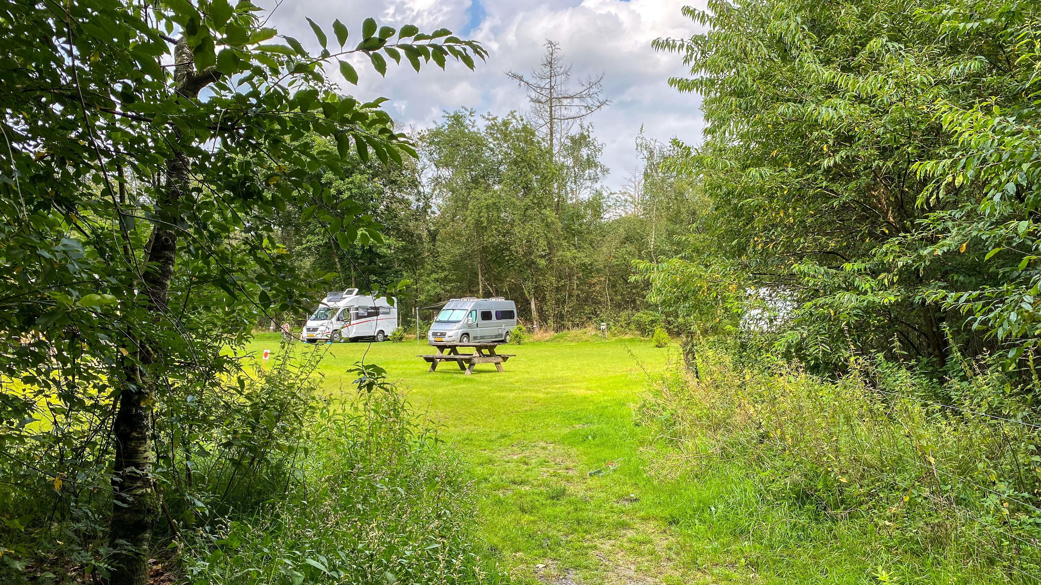 Camperplaats Kale Duinen, een leuke tip voor natuurliefhebbers
