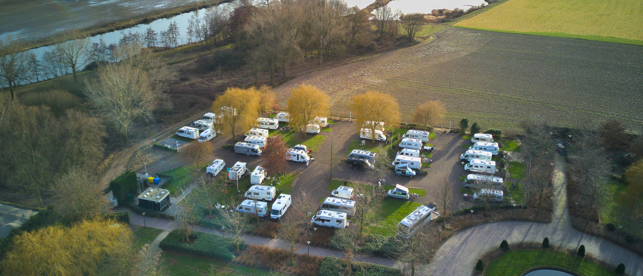 Camperplaats Kessel-Eik aan de Maas