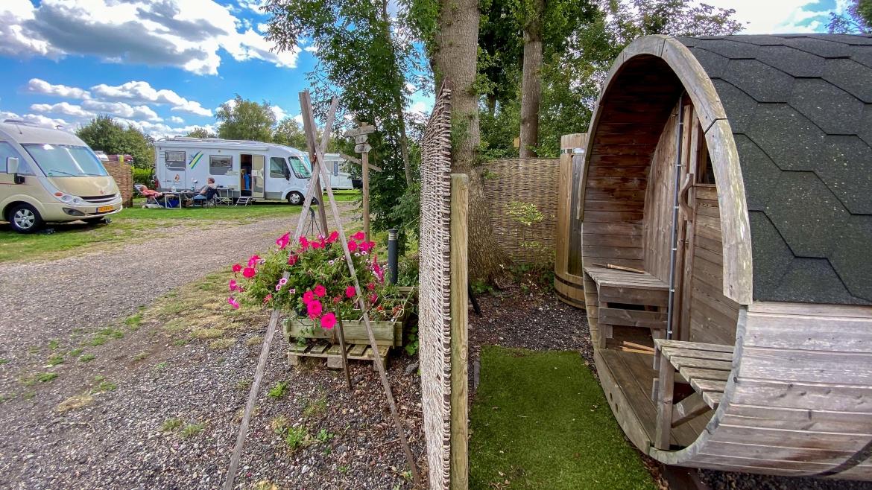 Camperplaatsen en Wellness