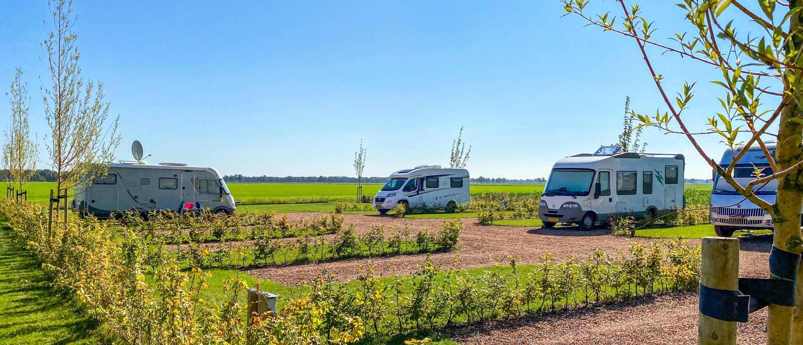Rust en ruimte op Camperplaats Orvelterblok