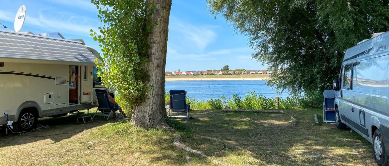 Camperplaats Rhederlaag. Het Gardameer van Nederland