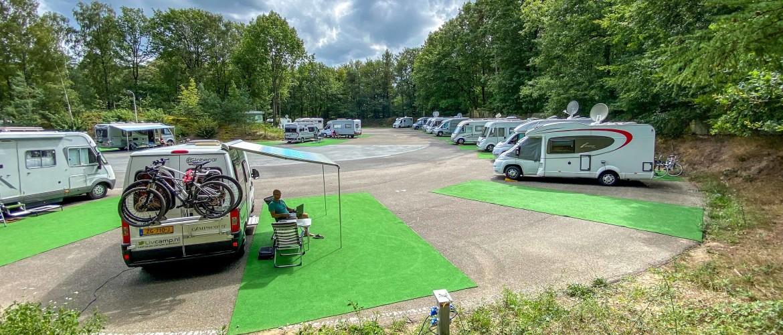 Camperplaats Rijssen, in 't 'Hollands Schwarzwald'