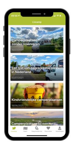 Camperplaatsen App
