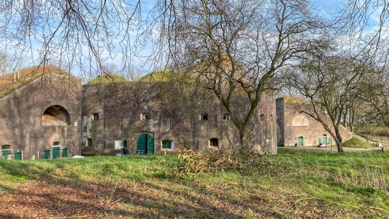 Fort Everdingen camperplaats Utrecht