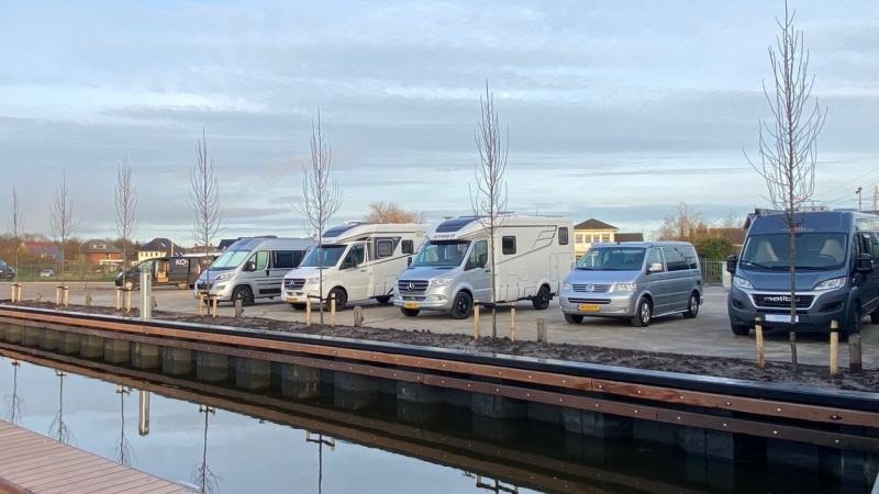 Verbouwing camperplaats Leeuwarden