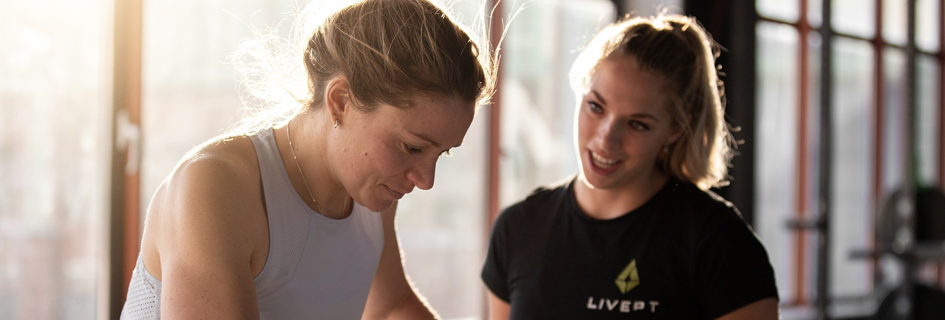 personal training in de personal fitness studio in het havenkwartier van schevieningen